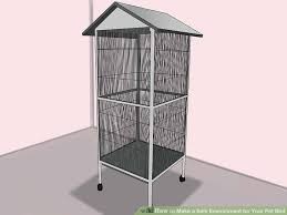 image titled make a safe environment for your pet bird step 1