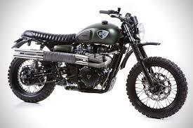 triumph scrambler the dirt bike by british customs hiconsumption