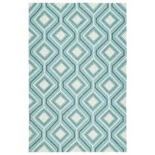 kaleen escape blue 8 ft x 10 ft indoor outdoor area rug