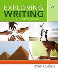 css essay booksexploring writing – sentences and paragraphs nd ed by john langan