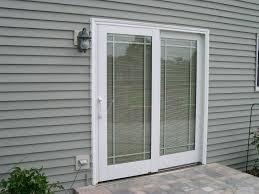 terrific exterior doors with built in blinds french doors sliding patio doors with blinds between