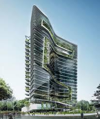 office block design. Green Office Design Wonderful Building For Healthy Works Block F