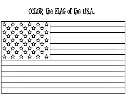 American Flag Coloring Page W Free Extension Activities Supplyme