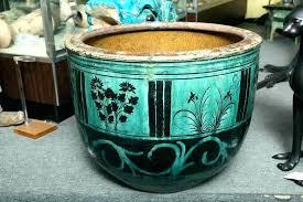 tall ceramic pot tall ceramic planter ceramic outdoor planters contemporary tall ceramic planters blue white ceramic tall ceramic pot