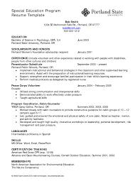 Special Education Assistant Resume Samples Velvet Jobs Teacher Cover