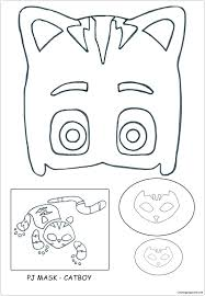 Pj Masks Catboy Coloring Page Free Coloring Pages Online