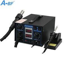 2 in 1 Rework <b>Station</b> dual digital display A BF SS330D soldering ...