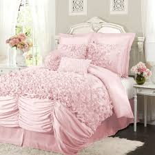 12 photos gallery of always pretty light pink bed set