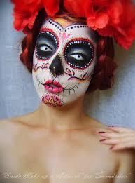 sugar skull makeup Šminkerica beauty munity