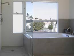 marvelous kohler cais mode san francisco modern bathroom decorators with awning windows glass shower enclosure master