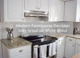 white subway tiles with grey grout. Unique White You Have Made The Ultimate Modern Farmhouse Decision And Picked Subway Tile  As Your Kitchen Back Splash Congrats Your Parents Will Say Things Like U201cyou  On White Subway Tiles With Grey Grout G