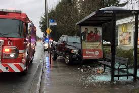 UPDATE: Mother pushes child out of way of pickup truck that hit bus ...