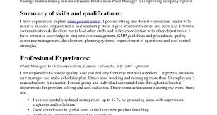 Quality Control Resume Superintendent Resume Template A Good