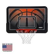 Basketball Display Stand Walmart Awesome Lifetime Basketball Backboard And Rim Combo 32Inch Impact 32