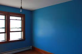 Paint Type For Living Room The Painting Begins Demonstration Of Flat Versus Eggshell Satin