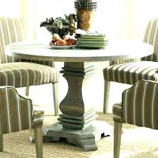 small round pedestal dining tables table set for spaces room interior and decoration