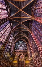 sainte chapelle 13me sicle style gothique le de la cit au chapelle de la sorbonne chappelle de la