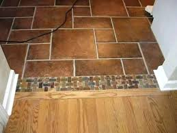 tile doorway transition image to carpet threshold transitions floor