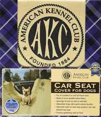 american kennel club car seat cover for dogs