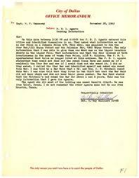 Office Memorandum from Detective W. Guy Hilliard to Captain W. P. ...