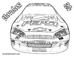 Small Picture nascar coloring pages free printable Archives Best Coloring Page