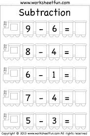 Addition Subtraction Worksheets For Kindergarten Printable Sentence ...