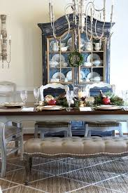 french country dining room painted furniture. Savvy Southern Style: Traditional Christmas Table....Styled And Set Tour French Country Dining Room Painted Furniture D