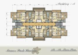 Apartment Building Plans Design Simple Decorating