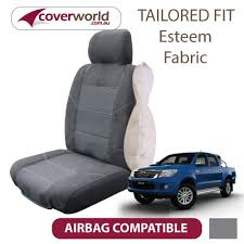 toyota hilux sr5 seat covers dual cab