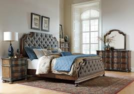 Lacks Bedroom Furniture Lacks Tuscany Valley 4 Pc Queen Bedroom Set Transitional Style