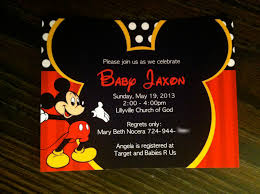 mickey mouse baby shower invitations com mickey mouse baby shower invitations by putting mesmerizing invitation templates printable to create your luxurious baby shower 8