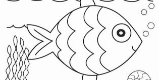 Printable Fish Coloring Pages Fresh Free Fish Coloring Pages Unique