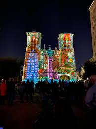 San Fernando Cathedral Light Show Times 2019 The Light Show At The San Fernando Cathedral San Antonio