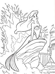 Disney Princess Ariel Coloring Pages 22 With Disney Princess Ariel