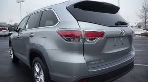 ALL NEW 2014 Toyota Highlander Limited Platinum AWD V-6 start up ...