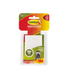 home office alternative decorating rectangle. Large White Picture Hanging Adhesive Strips (12-Adhesive Strips) Home Office Alternative Decorating Rectangle