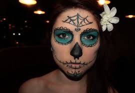makeup you day of the dead make up by immuhunic0rn