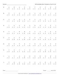 Best 25+ Multiplication timed test ideas on Pinterest ...