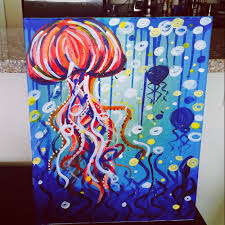 photo of painting with a twist tampa fl united states my jellyfish