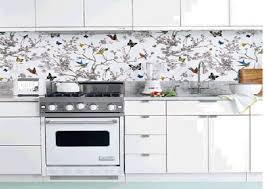 Kitchen Backsplash Wallpaper Best Wallpaper For Kitchen Backsplash 8137 Baytownkitchen