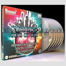 Details About Karaoke Cdg Discs Mr Entertainer Chart Hits Of 2015 6 Cd G Disc Set 100 Songs