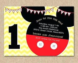 Make Your Own Mickey Mouse Invitations Create Your Own Mickey Mouse Invitations Baby Invitation Template