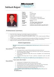 Resume. Subhash Rajput Degree Bsc-IT Diploma Computer Engg. Job Title  System admin Date of ...