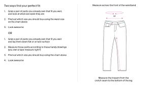 Pajama Jeans Size Chart Mens Shirt Size Chart Polos Pants More Psycho Bunny