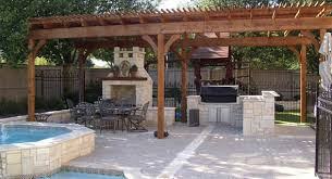 ... Dallas Pool Builder Fort Worth Outdoor Kitchens Feature Outdoor Kitchens  Photo Gallery Backyard Kitchen ...