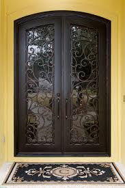wrought iron front doorsVery Elegant Wrought Iron Front Doors  Latest Door  Stair Design