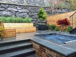 Small Picture Brooklyn Heights Bluestone Patio Garden Design Spa Fencing