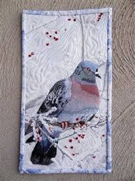 Mourning Dove - Media - Quilting Daily | Art Quilts/Fiber Arts ... & Mourning Dove - Media - Quilting Daily Adamdwight.com