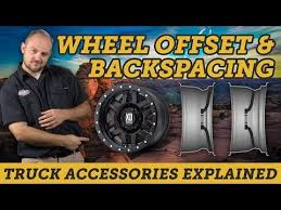 Understanding Wheel Offset Backspacing And Width Easy
