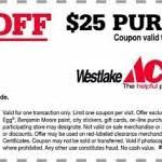 westlake ace hardware. $5 off coupon   westlake ace hardware inside printable